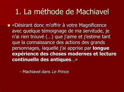 Citation Machiavel