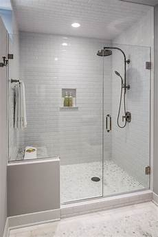 Duschabtrennung Badewanne Glas - the guest bath had a shower area that was dated and