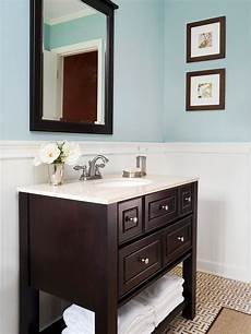 light blue paint in bathroom with dark and light counters lovely lavatories pinterest