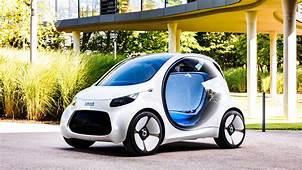 2017 Smart Vision EQ Fortwo 4K Wallpaper  HD Car