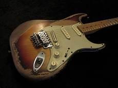 Fender Stratocaster Floyd Heavy Relic Custom Guitar