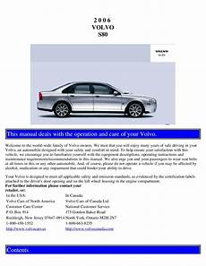 car repair manual download 2004 volvo s80 navigation system 2006 volvo s80 owners manual just give me the damn manual