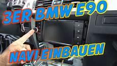 3er bmw e90 autoradio navi einbauen tutorial ars24