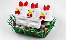 Eierkarton Basteln Ostern - basteln zu ostern osternest aus eierkarton