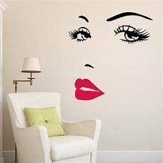 home decor wall stickers marilyn lip home decor wall