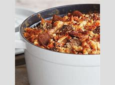 confit of duck breast and sausage cassoulet_image