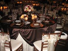 Brown Decorations by Reception Flowers Decor Registry Ivory Orange Pink