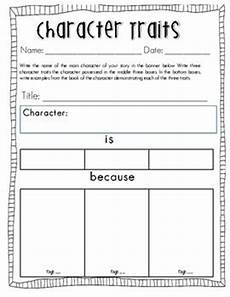 print character worksheets 19313 teaching character traits my everyday classroom