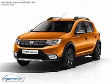 Dacia Sandero Stepway 2013 Abmessungen Technische