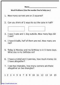 word problem worksheets for first grade math math word problems math words word problems