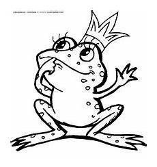 Ausmalbild Frosch Mit Krone Frosch Prinzessin Herunterladen Und Drucken F 228 Rbung