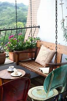 schmaler balkon gestalten 35 small balcony gardens home design and interior