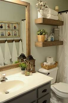 Decorating Ideas For Bathrooms For Small Bathrooms by Hallway Bathroom Makeover With Only 100 For The 100 Room