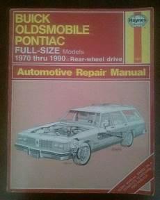 book repair manual 1990 buick estate auto manual find haynes repair manual for buick oldsmobile pontiac full size models 1970 1990 motorcycle