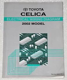2002 celica wiring diagram 2002 toyota celica gt gts original electrical wiring diagrams shop repair manual ebay