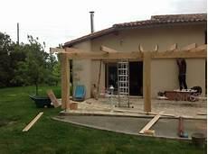 Couverture De Terrasse Avec Charpente En Douglas Mericq