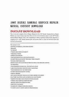 download car manuals pdf free 1989 suzuki sidekick electronic toll collection 1987 suzuki samurai service repair manual instant download by kmsjfenne mfkjsf issuu