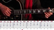 comment jouer de la guitare gamme de do majeur 224 la guitare avec tablature