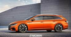 It S Official A Vw Arteon Shooting Brake Is Happening