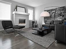 Grauer Boden Wohnzimmer - contemporary living room contemporary living room