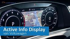 active info display polo impressie volkswagen active info display autokopen nl