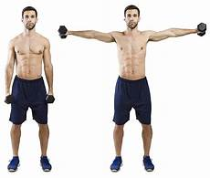 esercizi per spalle a casa hiit exercise how to do side lateral raise hiit academy