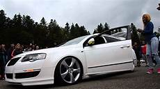 vw passat b6 estate bagged airride battle