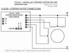 6 Lead Motor To The Stepper Driver Control Circuit