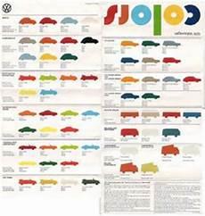 vw original paint color chart cars i love pinterest volkswagen paint colors and charts