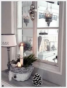 Fensterbank Deko Weihnachten Weihnachtsdekoration Deko