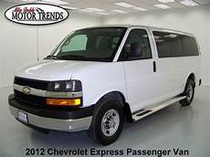 old car repair manuals 2012 chevrolet express 3500 user handbook buy used 2012 chevy express g3500 12 passenger lt 6 0 v8 cruise rear ac am fm cd 31k in alvin