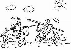 Ritter Malvorlagen Zum Ausdrucken Lassen Ausmalbild Ritter Ein Ritterturnier Zum Ausmalen