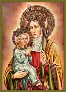 st anna st of our damsel of the faith