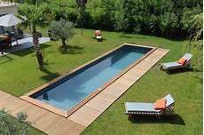 couloir de nage hors sol bois couloir de nage piscine cn piscinelle
