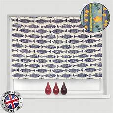 Bathroom Blinds Fish Pattern by Sale Made To Measure Easyfit Fish Pattern