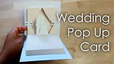 pop up card tutorials and templates tutorial template diy wedding project pop up card