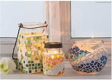 windlicht selbst gestalten glas mit deckel rustikaler teelichteinsatz deko