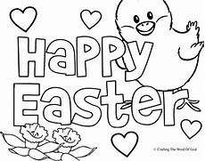 happy easter 2 coloring page 171 crafting the word of god