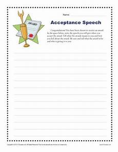 composition worksheets for grade 5 22753 acceptance speech 4th and 5th grade writing prompt worksheet