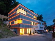 cube haus gmbh reflecting cube helwig haus raum planungs gmbh archdaily