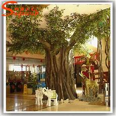 arbre interieur deco en plastique tronc d arbre pour int 233 rieure props grande