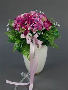 Brautstrauß Mit Hortensien - brautstrau 223 mit hortensien und schleierkraut rosa pink