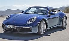 Porsche 911 Cabrio 2019 Motor Ausstattung