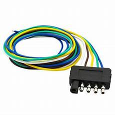 5way flat plug wire wiring harness connection kit for trailer boat car rv us ebay