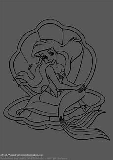 Ausmalbilder Meerjungfrau Mandala Bilder Zum Ausmalen Arielle Die Meerjungfrau 5 Bilder