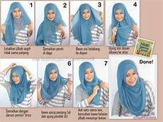 Cara Memakai Jilbab Segi Empat Yang Simpel Dan Cantik