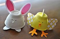 Eierkarton Basteln Ostern - easter decor crafts decoration from egg