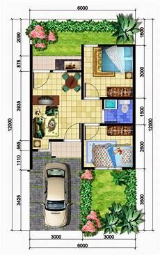 Beberapa Denah Rumah Minimalis Type 36 Terbaru Yang Nyaman