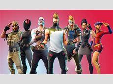 Download Fortnite, season 5, characters' skins wallpaper