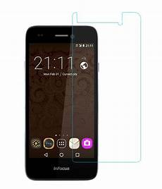infocus bingo 50 tempered glass screen guard by coskart mobile screen guards online at low